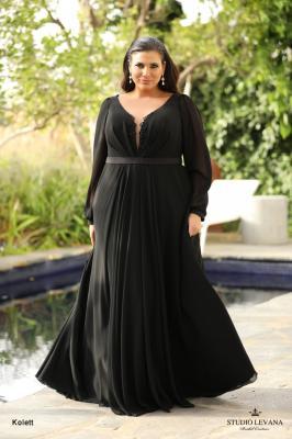 שמלות ערב מידות גדולות Kolett (1)