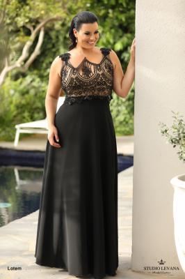 שמלות ערב מידות גדולות Lotem (1)