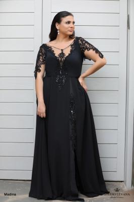 שמלות ערב מידות גדולות Madina (1)
