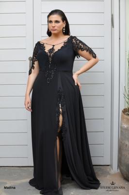 שמלות ערב מידות גדולות Madina (2)