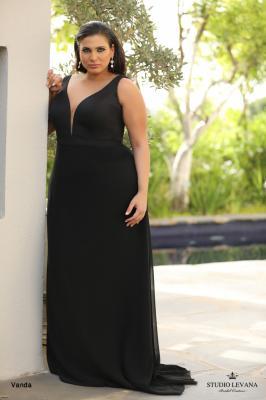 שמלות ערב מידות גדולות Vanda (1)