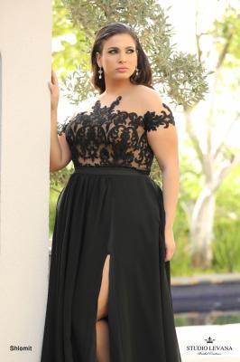 שמלות ערב מידות גדולות shlomit (1)