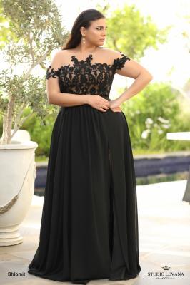 שמלות ערב מידות גדולות shlomit (2)