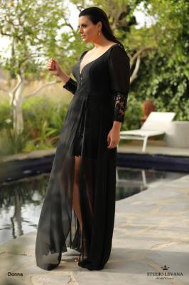 שמלות ערב מידות גדולות Donna (2)
