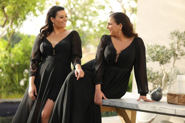 שמלות ערב מידות גדולות Donna Kolett (1)