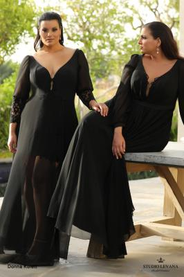 שמלות ערב מידות גדולות Donna Kolett (2)