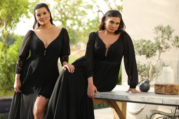שמלות ערב מידות גדולות Donna Kolett (3)