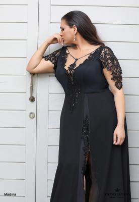 שמלות ערב מידות גדולות Madina (3)