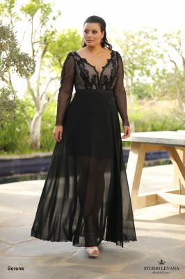 שמלות ערב מידות גדולות Sorona (2)