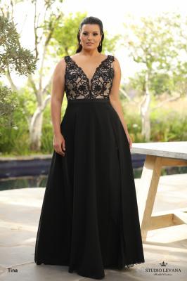 שמלות ערב מידות גדולות Tina (1)