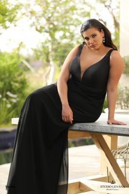 שמלות ערב מידות גדולות Vanda (2)