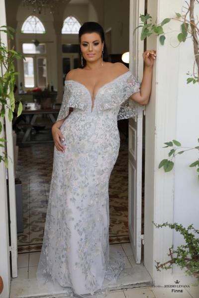 שמלת ערב מידה גדולה Finna
