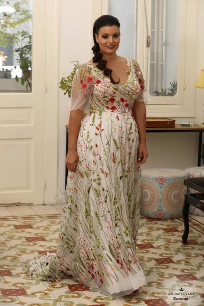 שמלת ערב מידה גדולה Summer