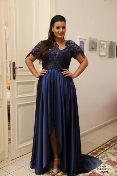 שמלת ערב מידה גדולה Dayana