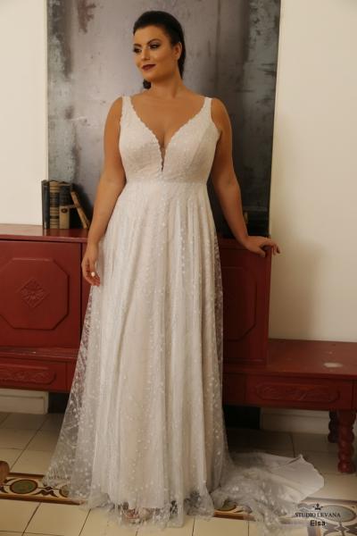 שמלת ערב מידה גדולה Elsa
