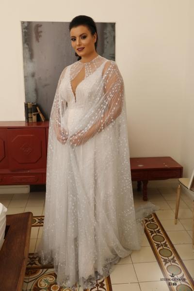 שמלת ערב מידה גדולה Elsa (1)
