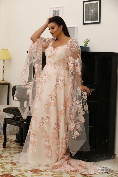 שמלת ערב מידה גדולה Fiora
