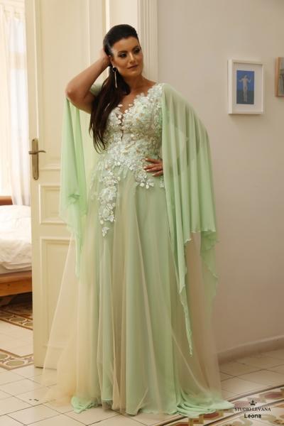 שמלת ערב מידה גדולה Leona