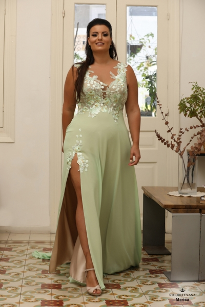 שמלת ערב מידה גדולה Marisa