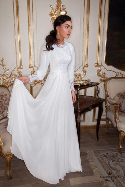 שמלות כלה צנועות 2017 shany (2)