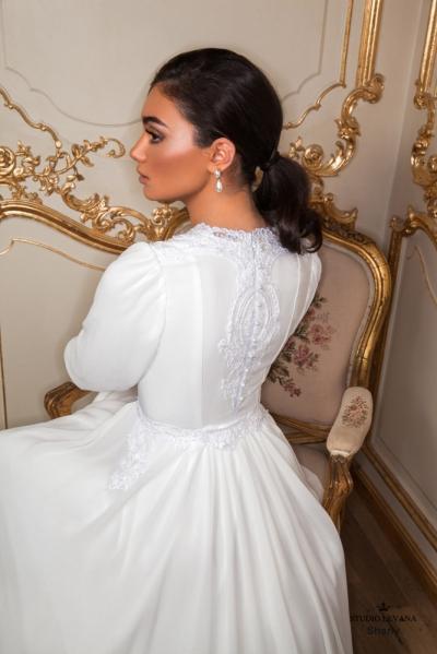 שמלות כלה צנועות 2017 shany (4)
