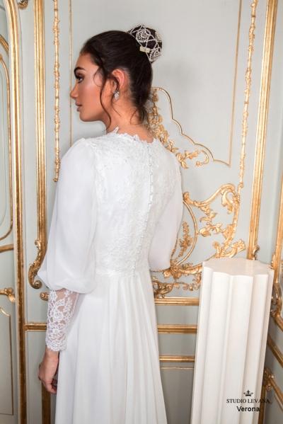 שמלות כלה צנועות 2017 verona (2)