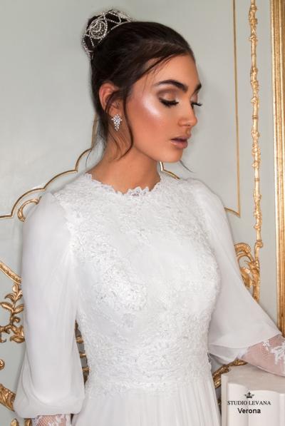 שמלות כלה צנועות 2017 verona (4)