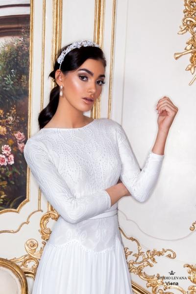 שמלות כלה צנועות 2017 viena (2)