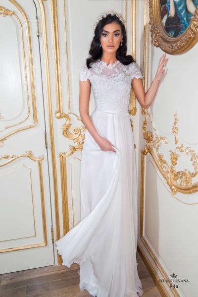 שמלות כלה צנועות 2017 fita (2)