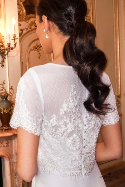 שמלות כלה צנועות 2017 lida (1)