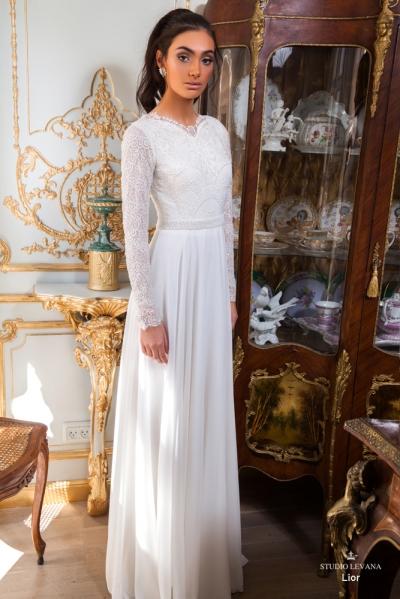 שמלות כלה צנועות 2017 lior (3)