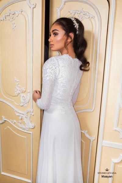 שמלות כלה צנועות 2017 maayan (1)
