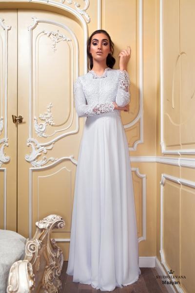 שמלות כלה צנועות 2017 maayan (3)