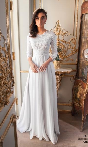 שמלות כלה צנועות 2017 orit (2)