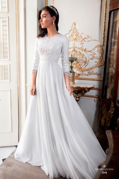 שמלות כלה צנועות 2017 orit (3)