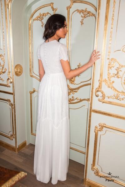 שמלות כלה צנועות 2017 paola (1)