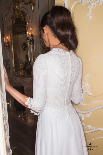 שמלות כלה צנועות 2017 rika (1)