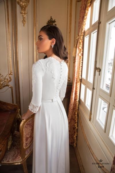 שמלות כלה צנועות 2017 sarit (1)