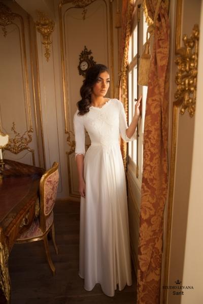 שמלות כלה צנועות 2017 sarit (2)