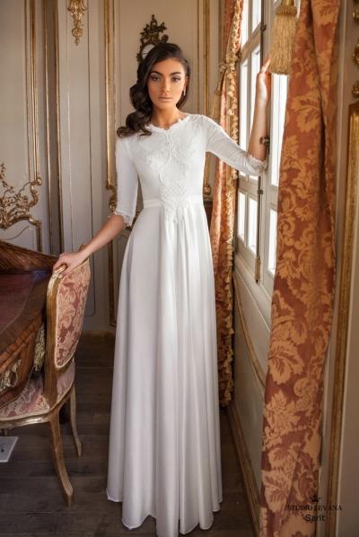 שמלות כלה צנועות 2017 sarit (3)