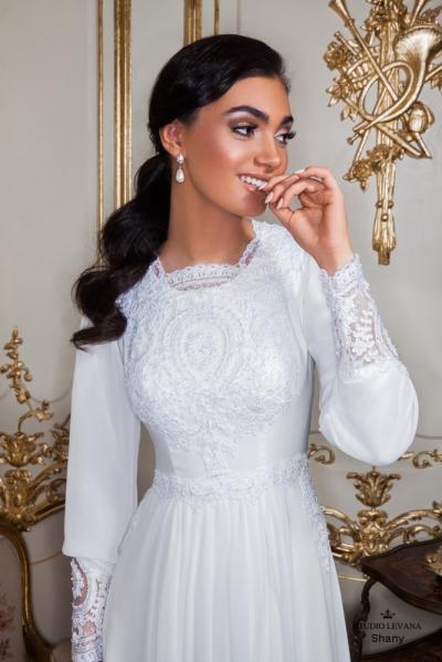 שמלות כלה צנועות 2017 shany (3)