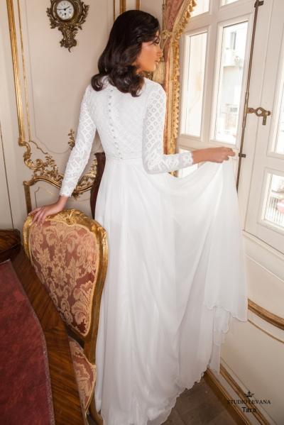 שמלות כלה צנועות 2017 tara (1)