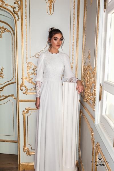 שמלות כלה צנועות 2017 verona (3)