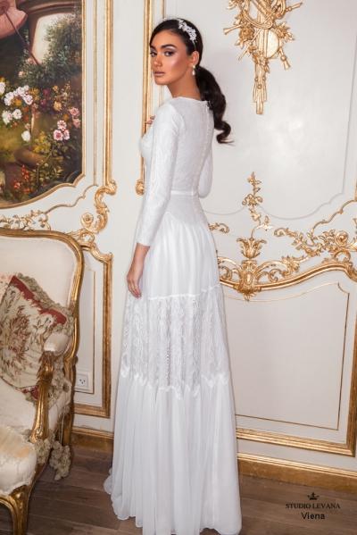 שמלות כלה צנועות 2017 viena (1)