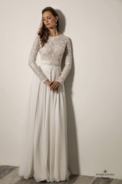 שמלותכלהצנועות Topaz (3)