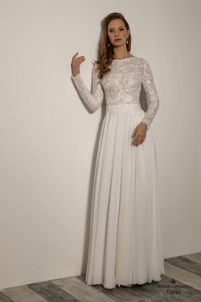 שמלותכלהצנועות Topaz (2)