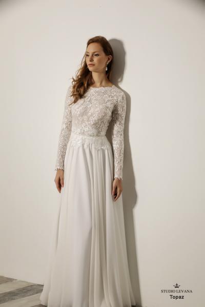 שמלותכלהצנועות Topaz (4)