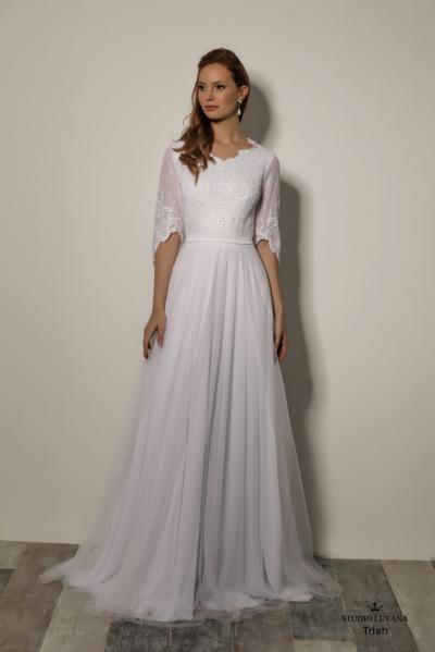 שמלותכלהצנועות Trish (1)