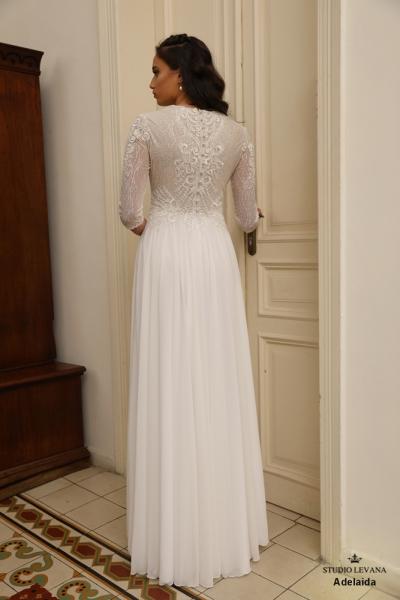 שמלות כלה צנועות Adelaida (2)