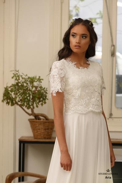 שמלות כלה צנועות Aria (1)